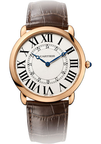 Cartier Watches - Ronde Louis Cartier 42mm - Pink Gold - Style No: W6801004
