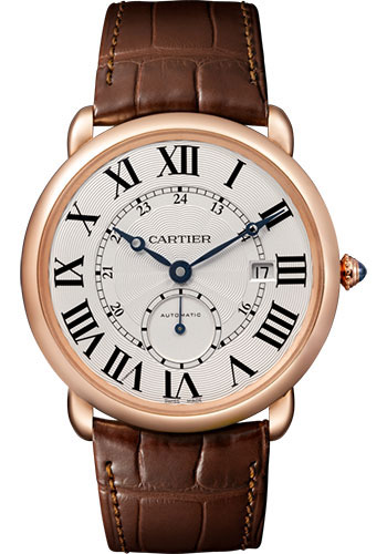 Cartier Watches - Ronde Louis Cartier 40mm - Pink Gold - Style No: W6801005