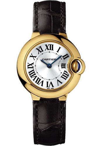 Cartier Watches - Ballon Bleu 28mm - Yellow Gold - Style No: W6900156