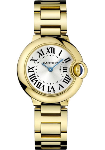 Cartier Watches - Ballon Bleu 28mm - Yellow Gold - Style No: W69001Z2