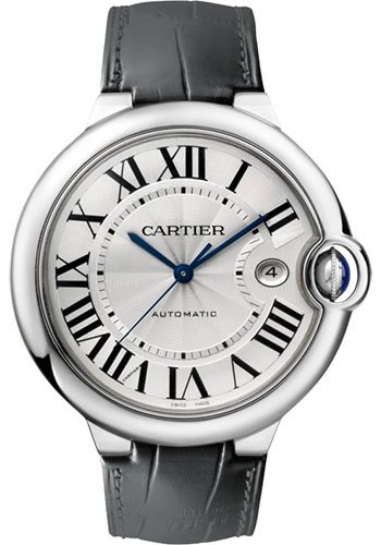 Cartier Watches - Ballon Bleu 42mm - Stainless Steel - Style No: W69016Z4