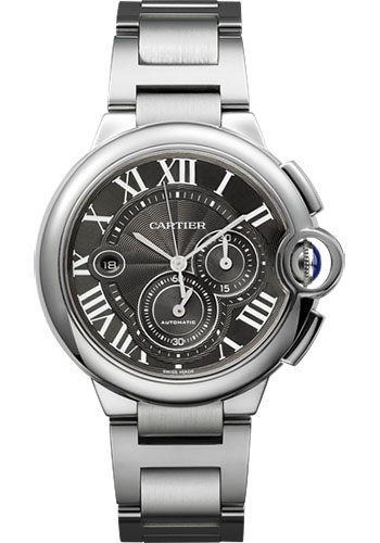 Cartier Watches - Ballon Bleu 44mm - Stainless Steel - Style No: W6920025