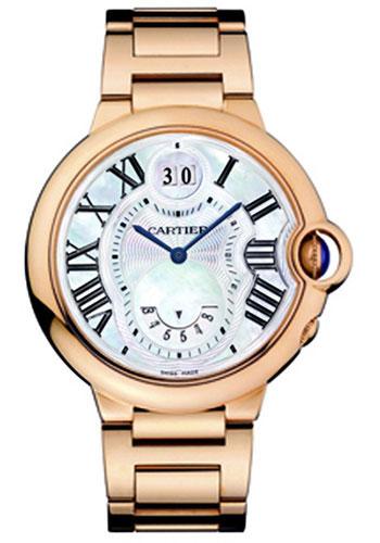 b5f13160d9b Cartier Style No  W6920035. Cartier Ballon Bleu Watches 38.5mm 18K pink gold  ...