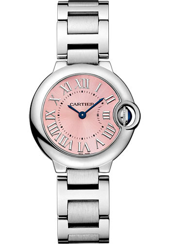 Cartier Watches - Ballon Bleu 28mm - Stainless Steel - Style No: W6920038