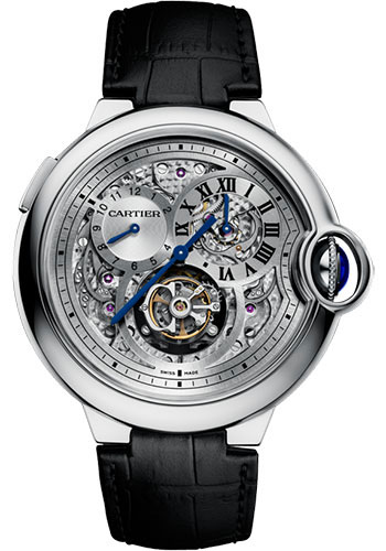 Cartier Watches - Ballon Bleu 46mm - Flying Tourbillon - Style No: W6920081