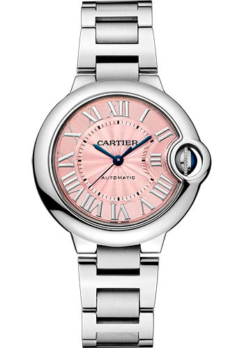 Cartier Watches - Ballon Bleu 33mm - Stainless Steel - Style No: W6920100