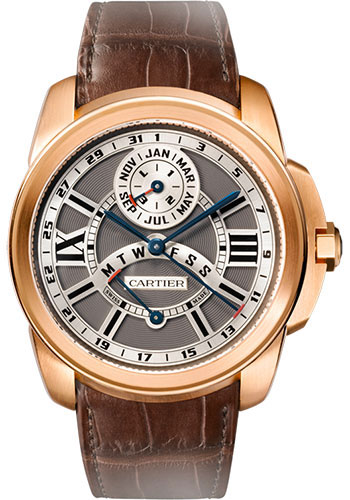 Cartier Watches - Calibre de Cartier Perpetual Calendar - Style No: W7100029