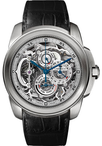 Cartier Watches - Calibre de Cartier Grande Complication - Style No: W7100031