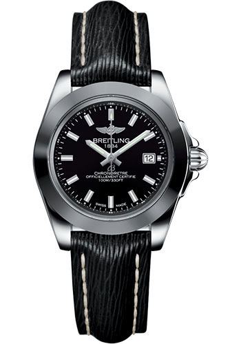 Breitling Watches - Galactic 32 Sleek Stainless Steel - Sahara Strap - Tang - Style No: W7133012/BF62/208X/A14BA.1