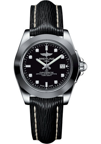 Breitling Watches - Galactic 32 Sleek Stainless Steel - Sahara Strap - Tang - Style No: W7133012/BF63/208X/A14BA.1