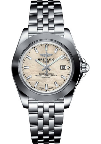 Breitling Watches - Galactic 32 Sleek Stainless Steel - Pilot Bracelet - Style No: W71330121A2A1