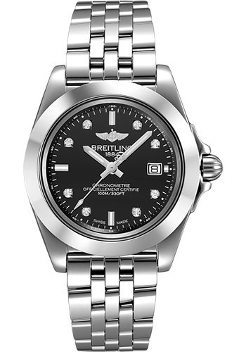 Breitling Watches - Galactic 32 Sleek Stainless Steel - Pilot Bracelet - Style No: W71330121B1A1