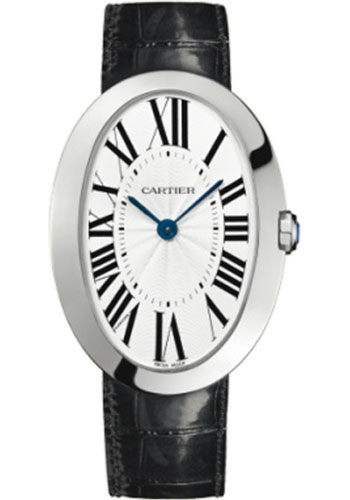 Cartier Watches - Baignoire Large - White Gold - Style No: W8000001