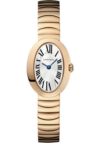 Cartier Watches - Baignoire Mini - Pink Gold - Style No: W8000015