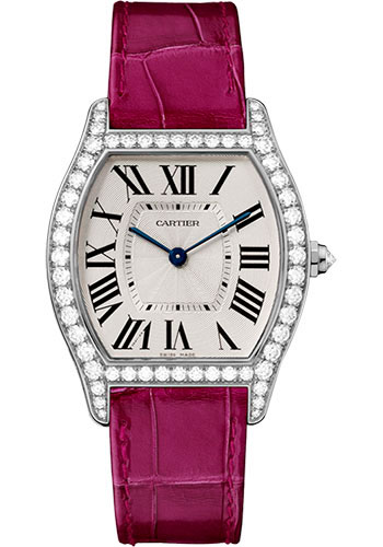 Cartier Watches - Tortue Medium - White Gold - Style No: WA501009