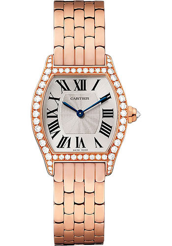 Cartier Watches - Tortue Small - Pink Gold - Style No: WA501010