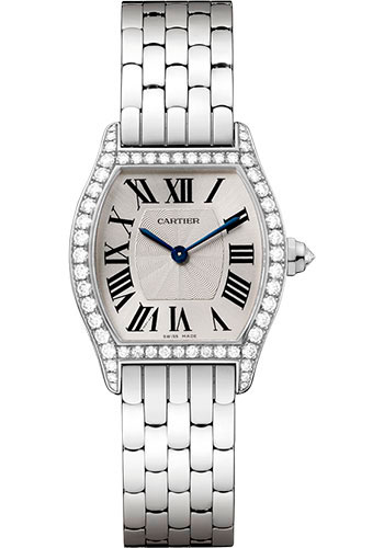 Cartier Watches - Tortue Small - White Gold - Style No: WA501011