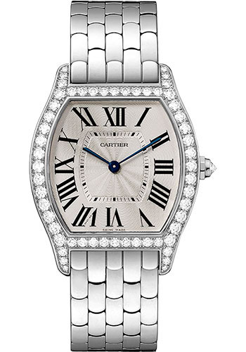 Cartier Watches - Tortue Medium - White Gold - Style No: WA501013