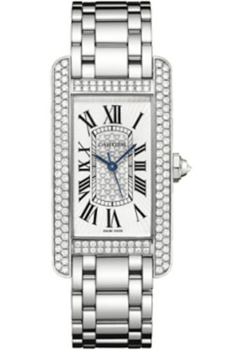 Cartier Watches - Tank Americaine Medium - White Gold - Style No: WB710001