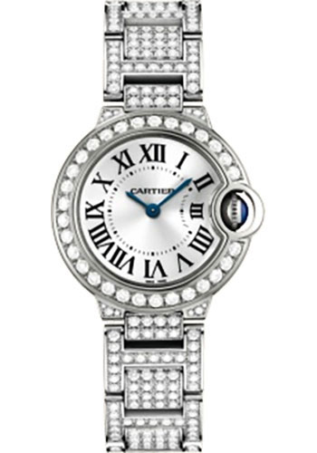 Cartier Watches - Ballon Bleu 28mm - White Gold - Style No: WE9003ZA