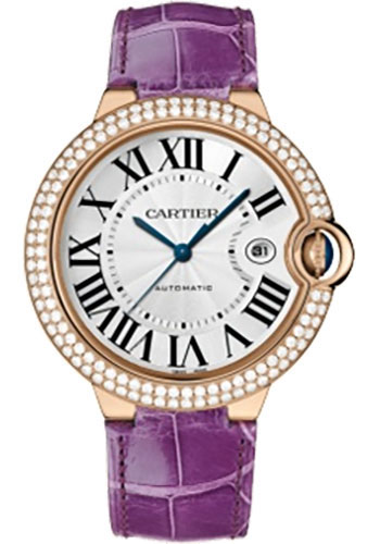 Cartier Watches - Ballon Bleu Pink Gold With Diamonds - Style No: WE900851