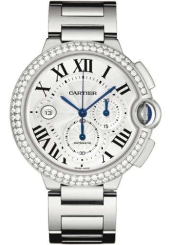 Cartier Watches - Ballon Bleu 46mm - White Gold - Style No: WE902001