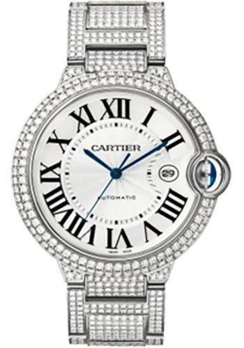 Cartier Watches - Ballon Bleu 42mm - White Gold - Style No: WE902006
