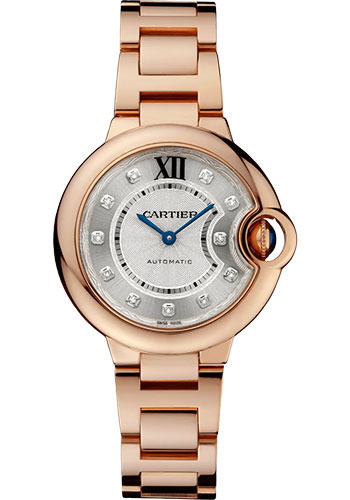 Cartier Watches - Ballon Bleu 33mm - Pink Gold - Style No: WE902062