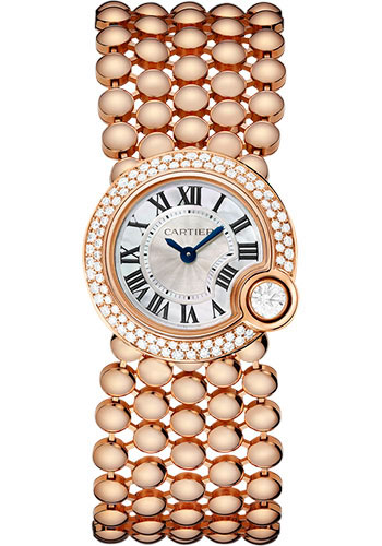 Cartier Watches - Ballon Blanc de Cartier 24mm - Pink Gold - Style No: WE902057