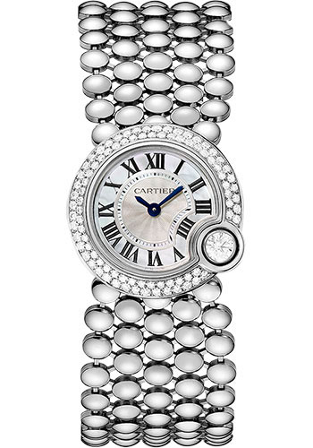 Cartier Watches - Ballon Blanc de Cartier 24mm - White Gold - Style No: WE902058
