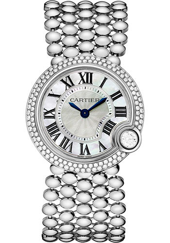 Cartier Watches - Ballon Blanc de Cartier 30mm - White Gold - Style No: WE902072