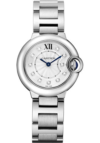 Cartier Watches - Ballon Bleu 28mm - Stainless Steel - Style No: WE902073