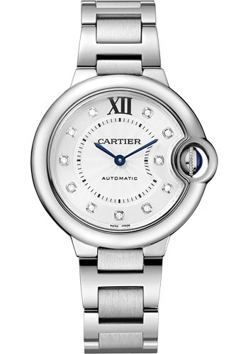 Cartier Watches - Ballon Bleu 33mm - Stainless Steel - Style No: WE902074