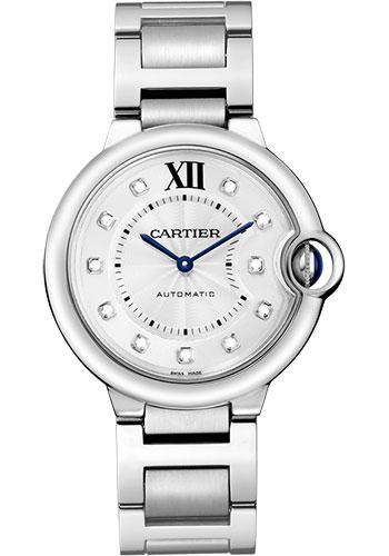 Cartier Watches - Ballon Bleu 36mm - Stainless Steel - Style No: WE902075