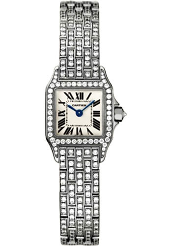 Cartier Watches - Santos Demoiselle Mini - Style No: WF9005YA