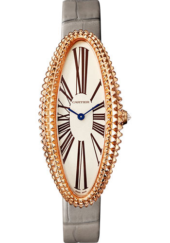 Cartier Watches - Baignoire Allongee Medium - Pink Gold - Style No: WGBA0009