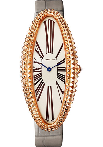 Cartier Watches - Baignoire Allongee Extra Large - Pink Gold - Style No: WGBA0010