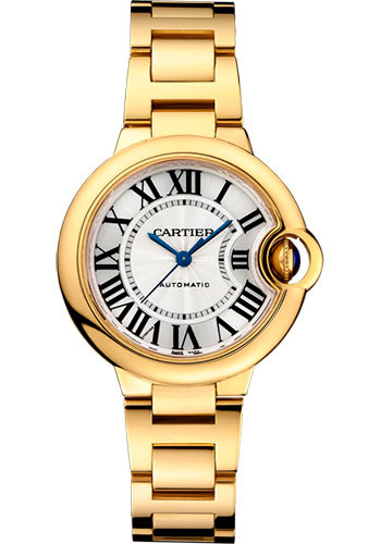 Cartier Watches - Ballon Bleu 33mm - Yellow Gold - Style No: WGBB0005