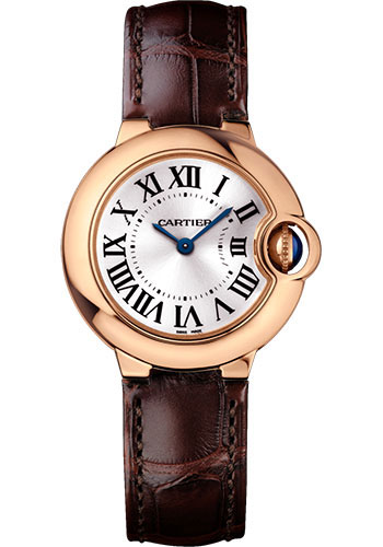 Cartier Watches - Ballon Bleu 28mm - Pink Gold - Style No: WGBB0007
