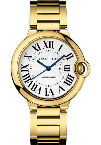 Cartier Watches - Ballon Bleu 36mm - Yellow Gold - Style No: WGBB0011