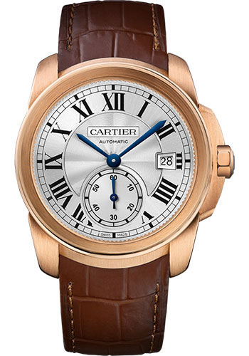 Cartier Watches - Calibre de Cartier 38mm - Automatic - Gold - Style No: WGCA0003