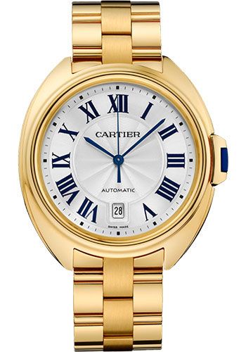 Cartier Watches - Cle de Cartier 40mm - Yellow Gold - Style No: WGCL0003
