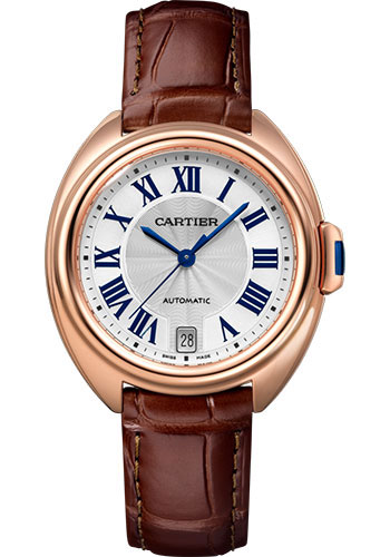 Cartier Watches - Cle de Cartier 35mm - Pink Gold - Style No: WGCL0013