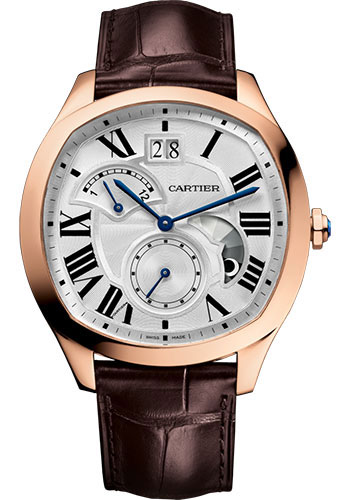 Cartier Watches - Drive de Cartier Large Date - Retrograde Time Zone - Day Night - Style No: WGNM0005