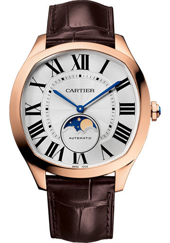 Cartier Watches - Drive de Cartier Moon Phases - Style No: WGNM0008