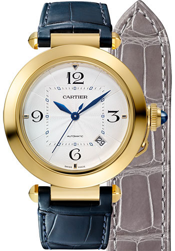 Cartier Watches - Pasha de Cartier 41 mm - Yellow Gold - Style No: WGPA0007