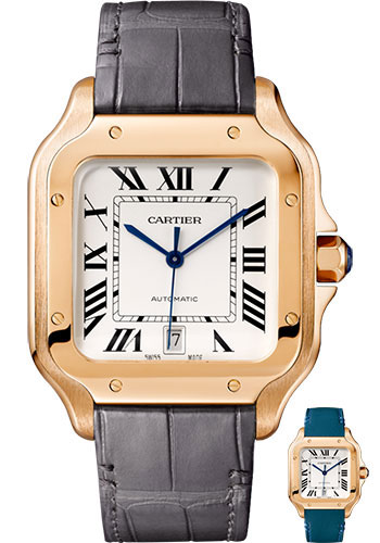 Cartier Watches - Santos de Cartier Large - Pink Gold - Style No: WGSA0011