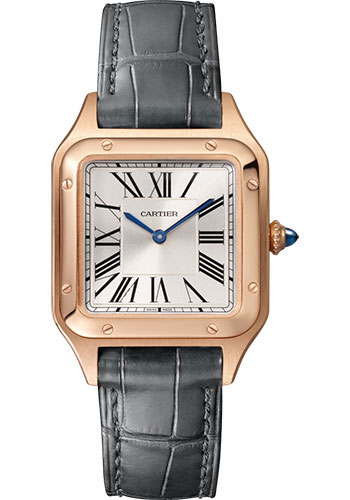 Cartier Watches - Santos Dumont Small - Pink Gold - Style No: WGSA0022