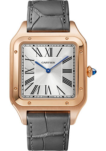 Cartier Watches - Santos Dumont Extra Large - Pink Gold - Style No: WGSA0032