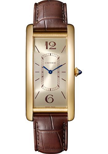 Cartier Watches - Tank Cintree Yellow Gold - Style No: WGTA0026